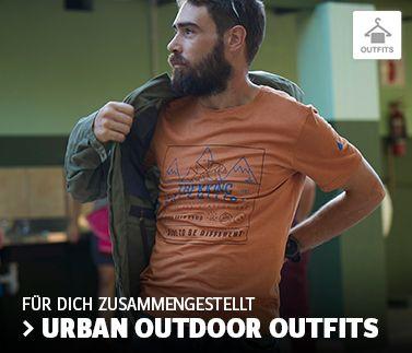 Zu den Herren Urban Outdoor Outfits