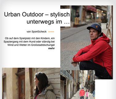 Zum SportScheck Magazin > Urban Outdoor