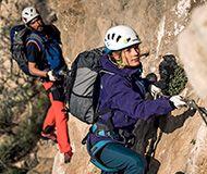 Zum Klettersteigsortiment