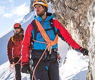 Bergsteigen Alpin Herren