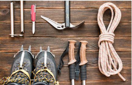 Zur Ausrüstung zum Bergsteigen