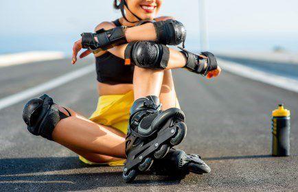 Inline Skating Schutzausrüstung