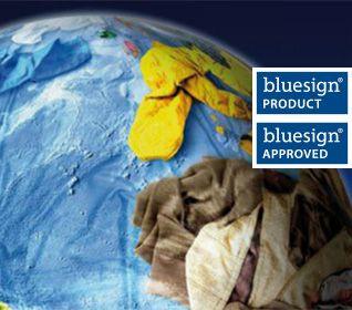 Nachhaltigkeit mit bluesign
