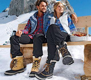 Winter-Wander-Schuhe