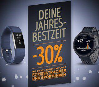 Fitness Tracker und Sportuhren bis 30% reduziert