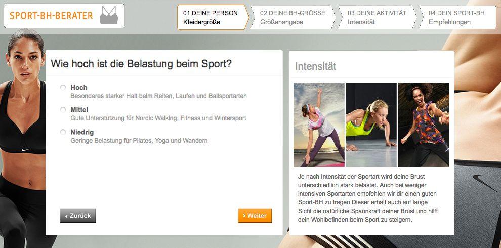 Finde deinen richtigen Sport-BH