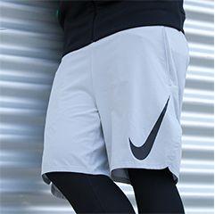 Athleisure Look mit weiter Shorts