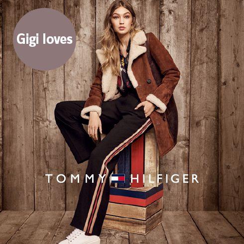 Gigi und Tommy Hilfiger