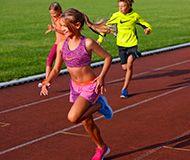 Laufen Kinder