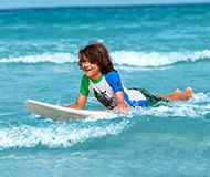 Surfen Kinder