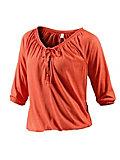 Neighborhood Langarmshirt Damen orange