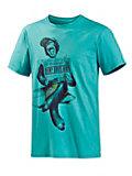 QUIKSILVER Basic T-Shirt Herren türkis