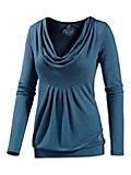 Neighborhood Langarmshirt Damen graublau