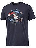 Element Cut Out Icon Printshirt Herren