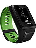 TomTom Runner 3 Cardio+Music Sportuhr schwarz/grün