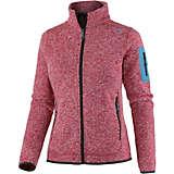 CMP Knitted Jacket Strickfleece Damen rot