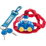 ABUS Super Neo Fahrradschloss Kinder blau