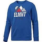 Element Projects Sweatshirt Herren blau