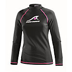 Maui Wowie Lycra Surf Shirt Damen schwarz/pink