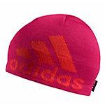 adidas Knit Logo Beanie Damen pink