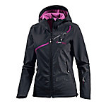 White Season Softshelljacke Damen schwarz