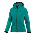SALEWA Softshell Hoodie-not embossed Softshelljacke Damen türkis
