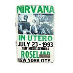 Icon Nirvana Geldbeutel Herren weiß/grün