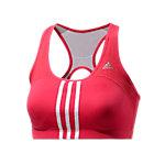 adidas Sport-BH Damen rot/weiß