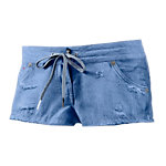 Bench Lexi Hot Pants Damen light denim