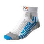 X-SOCKS Speed Two Laufsocken Damen weiß/türkis