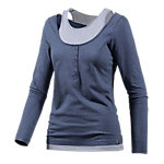 WLD Under the cherrymoon Layerlangarmshirt Damen blau
