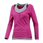 WLD Under the cherrymoon Layerlangarmshirt Damen pink