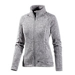 White Season Strickfleece Damen graumelange