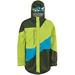 SCOTT Morello Snowboardjacke Herren neongrün/oliv/blau