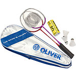 OLIVER Badminton Set blau