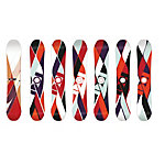 Salomon Idol 12/13 All-Mountain Board Damen weiß/rot/bunt