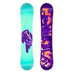 Salomon Oh Yeah Freestyle Board Damen hellblau/lila