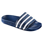 adidas Adilette Sandalen blau/weiß