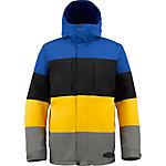 Burton Encore Snowboardjacke Herren blau/schwarz/gelb
