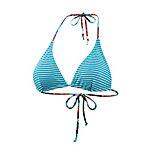 Maui Wowie Triangel-OT Bügelbikini Damen türkis/weiß