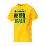 Nike Fußball Fanshirt Brasilien Heren gelb