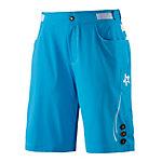 Wildzeit Wildwechsel Bike Shorts blau/weiß