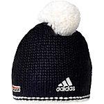 adidas DSV Crochet 2 Bommelmütze schwarz/weiß