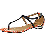 Buffalo Sandalen Damen orange/offwhite