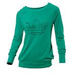 adidas Sweatshirt Damen grün