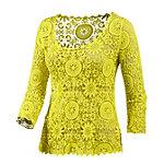 LingaDore Langarmshirt Damen gelb