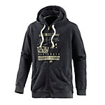 Billabong Retro Sweatjacke Herren schwarz