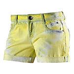 S.OLIVER Shorts Damen gelb/weiß