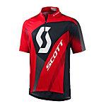 SCOTT Authentic Fahrradtrikot Herren rot/schwarz