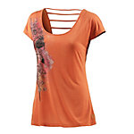 Neighborhood T-Shirt Damen orange